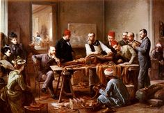 Examination of a Mummyby Paul Dominique Philippoteaux c 1891. (Photo: Public Domain/ArtMight)