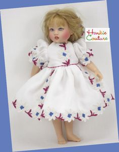 Daisies dress for Riley Kish by Hankie Couture ♡ http://hankiecouture.com ♡ #hankiecouture