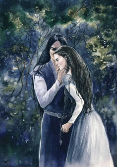 Финголфин и Анайрэ   Nolofinwe and Anaire