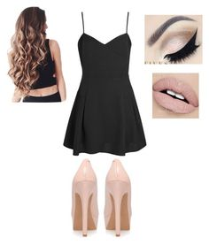 """""""Almost 309 followers!"""" by melanietorresco ❤ liked on Polyvore featuring Boohoo and Jessica Simpson"""