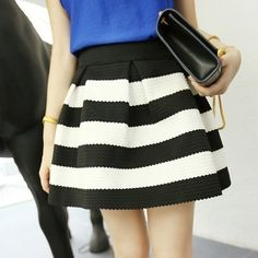 P.S. I Love You More Boutique | Classic Stripes Skirt | www.psiloveyoumoreboutique.com