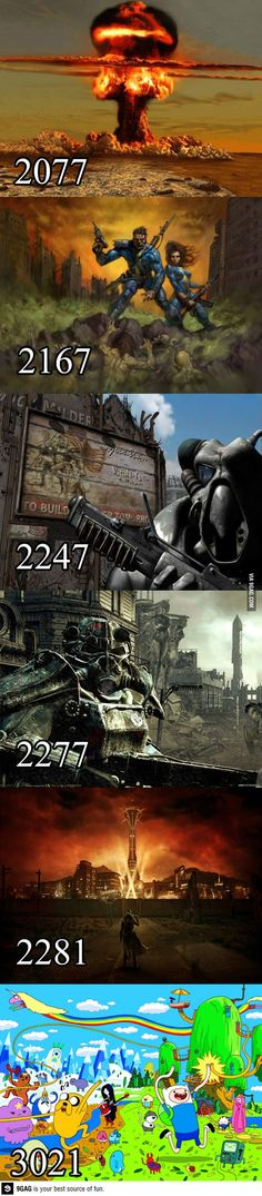 The future of our planet is part of Fallout game - More memes, funny videos and pics on Fallout Funny, Fallout Art, Fallout New Vegas, Funny Cartoon Pictures, Funny Images, Funny Photos, Images Photos, Video Game Memes, Video Games