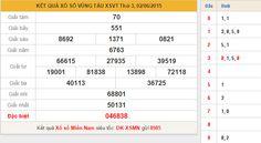 Soi cầu KQXS Vũng Tàu ngày hôm nay thứ 3 ngày 9/6/2015 (KẾT QUẢ XSMB - XSMT - XSMN )