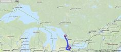 Driving Directions from St. Catharines, Canada to St. Catharines, Canada | MapQuest