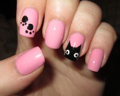 """I have a pair of shoes that would match these nicely.  Also, they remind me of @Heather Sumner """"bad kitty"""" :)"""