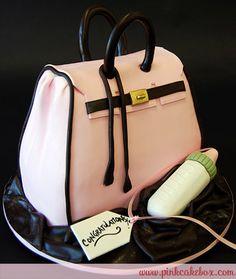 Sculpted Handbag Cake by Pink Cake Box