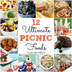 Picnic recipes on Pinterest | Picnic Ideas, Picnics and Summer Picnic