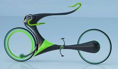 Flying Bike concept uses magnetic levitation to challenge gravity