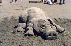http://www.elwindesigns.com/sand-sculptures.asp   Zand Sculpturen ...