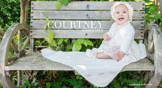 Courtney Cotton Christening Romper Dress Collection