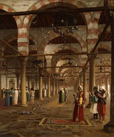 Jean-Leon Gerome, Prayer at the Mosque