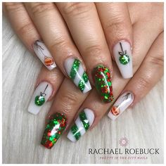 Pretty In The City (@pretty_in_the_city_nails) • Instagram photos and videos Christmas Nail Designs, Christmas Nails, Acrylic Nail Designs, Acrylic Nails, City Nails, Blue Nails, Nails Magazine, Winter Nails, Nails On Fleek