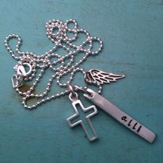 Angel Wing Necklace by TBSoulSisters on Etsy, $45.00