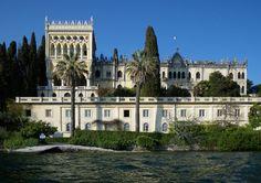 Italian Villas: Villa Cavazza-Borghese, Isola del Garda, Lombardia, Italy