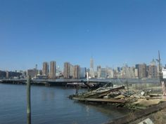 Waterfront view of NYC from Queens, Long Island City