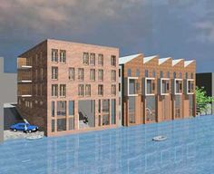 Houthavens Amsterdam ism Quintus Huber Amsterdam, Multi Story Building, Projects, Log Projects
