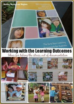 Tips and documentation strategies for educators, childminders, providers, teachers and home daycare when working with learning outcomes and frameworks.