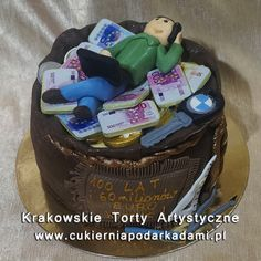 213. Tort z workiem pieniędzy. Bag of money cake.