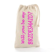 Wedding Bags Personalized: Will you be my bridesmaid Tote? Bag Bridesmaid proposal gift bag for robes Maid of Honor Bridal Party Invitation personalised totes. Wedding Bags, Wedding Ideas, Bridal Party Invitations, Bridesmaid Tote Bags, Bridesmaid Proposal Gifts, Will You Be My Bridesmaid, Maid Of Honor, Slippers, Trending Outfits