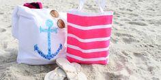 10 borse da spiaggia fai-da-te