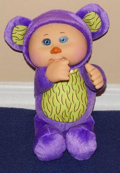 "9"" Cabbage Patch Cuties Purple & Green MONKEY Plush Doll 2014 #JakksPacific #Dolls Ty Toys, Doll Games, Barbie Stuff, Cabbage Patch Kids, Learning Toys, Plush Dolls, Daughters, Babys, Monkey"