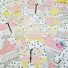 Handmade Embellishments #cratepaper #handmadeembellishments #papercrafts #maggieholmes #bloom