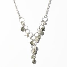 www.ORRO.co.uk - Diana Porter - Pearl & Silver Necklace - ORRO Contemporary Jewellery Glasgow