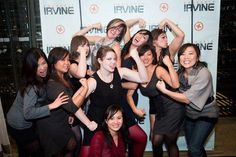 Some of the CrossFit Irvine ladies at the 2011 holiday party