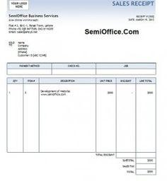 Free Download Invoice Template Muhammad Kadir Muhammadskadir9 On Pinterest