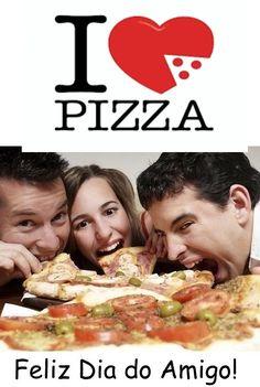 Dia do Amigo! Pra comemorar vou sugerir PIZZA!!! Chame os amigos e escolham dentre as mais de 100 variedades do nosso cardápio. #acasadapizzamelhorderioverde #diadoamigo #pizzapracomemorar #meuamigomerecepizza #friendsmaispizza #amigosmaispizza #gastronomiarv