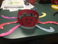 Octopus headband craft 7-2013