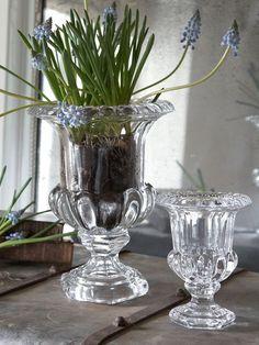 Glass Urn Vase