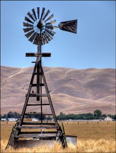 Windmill somewhere in Contra Costa County