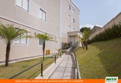 Paisagismo do Julliard. Condomínio fechado de apartamentos localizado em Jundiaí / SP