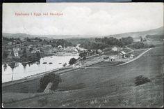 STEINKJÆR. BYAFOSSEN I EGGE NORD-TRØNDELAG Postgått 1909 Alter, Paris Skyline, Travel, Viajes, Destinations, Traveling, Trips