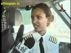 Captian Amsale Gualu becomes the first female Ethiopian Captain.  She is fab.  Notice the two other female pilots in the piece as well.  Great job!
