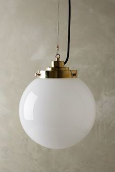 Original BTC Large Globe Pendant Lamp #anthrofave