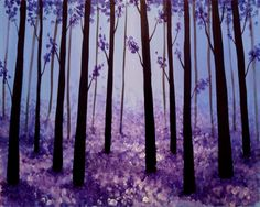 Hey! Check out Lavender Forest at Sam Bond's Brewing - Paint Nite Event