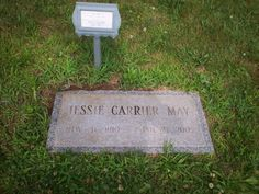 EAST CEMETERY , CROMWELL , CT. Jessie Susan CARRIER MAY