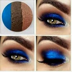 Out of the blue gorgeous eye trio. Mary Kay at play  Only $13  http://www.marykay.com/angelagiron