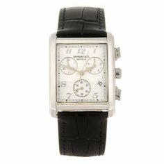 RAYMOND WEIL - a gentleman's Don Giovanni chrongraph bracelet watch.