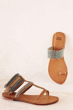 Anthropologie sandals.