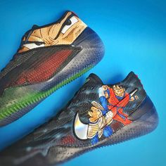 67a2189bfb0  melonkicks adds some flair to the Nike Kobe AD NXT 360 with a GOKU vs