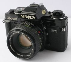Minolta X-700. The first camera I ever bought at age 15