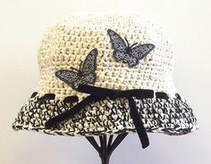 Crochet Womens Hat    Handmade Cloche    by SophiesHatsandMore
