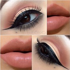 20 Amazing Eye Makeup Tutorials You cannot afford to miss ❤ liked on Polyvore featuring beauty products, makeup, eye makeup, eyes, beauty, lips and lips makeup