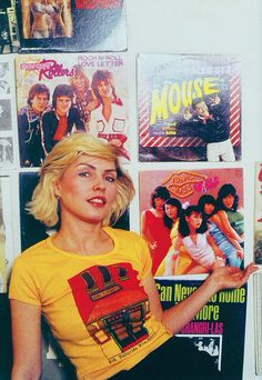 Debbie Harry photographed at home by Mick Rock