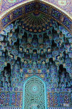 A mosque called Shah Cheragh in Shiraz, Iran.