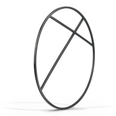 An oversized, architectural bangle handcrafted in sterling silver square stock with a matte black finish. For best fit: With your palm facing up, and the thumb and pinky touching, measure the widest a