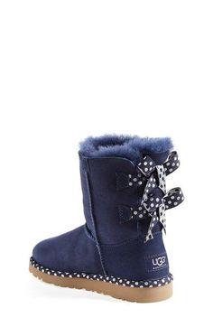 UGG® Australia 'Bailey Bow - Dot' Boot (Walker, Toddler, Little Kid & Big…